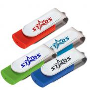 promotional epoxy dome rotate flash drive 2gb