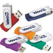promotional epoxy dome rotate flash drive 4gb