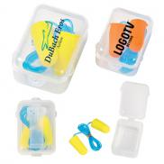 promotional foam ear plugs set in case