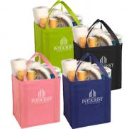 promotional large non-woven grocery tote