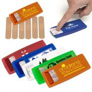 promotional 6 piece bandage dispenser