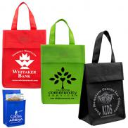 promotional value priced lightweight lunch tote