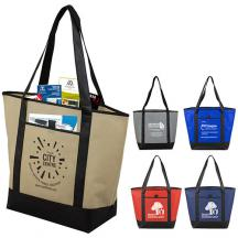 promotional city life tote bag