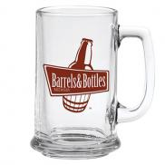 promotional 15 oz. glass tankard
