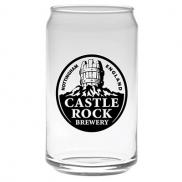 promotional 16 oz. soda can glass