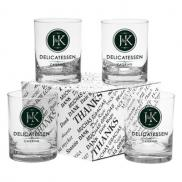 promotional 14 oz. double old fashioned set