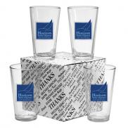 promotional 16 oz. mixing glass set