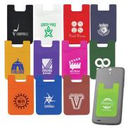 promotional silicone mobile pocket