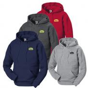 promotional 9 oz. adult  hooded fleece pullover