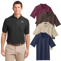 23424 - Port Authority® Silk Touch™ Polo with Pocket
