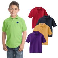 23426 - Port Authority® Youth Silk Touch™ Polo