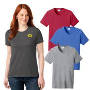 promotional port & company® ladies core blend tee