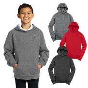promotional sport-tek® youth pullover hooded sweatshirt