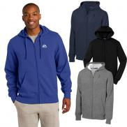 promotional sport-tek® full-zip hooded sweatshirt