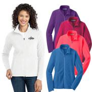 promotional port authority® ladies microfleece jacket