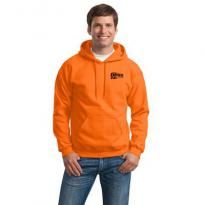23655 - Gildan® - Heavy Blend™ Hooded Sweatshirt (Safety Orange)