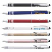 promotional metal twist stylus pen