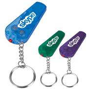 promotional whistle light/key chain