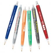promotional bic® tri-stic® clear