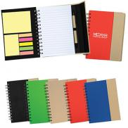promotional recycled magnetic journal book