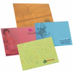 "Bic® 4"" x 3"" Bright Colored Adhesive Notepad (25 Sheets)"