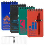 promotional pocket sized spiral jotter notepad