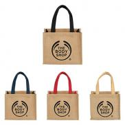 promotional mini jute gift tote