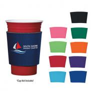 promotional comfort grip cup sleeve