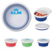 promotional collapsible food bowl
