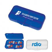 promotional rectangular shape pill holder