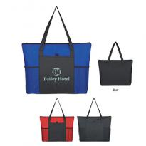 24671 - Voyager Zippered Tote Bag