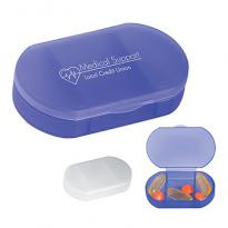 24684 - Oval Shape Pill Holder