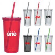 promotional 24 oz. double wall acrylic tumbler