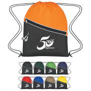 promotional non-woven two-tone sports pack