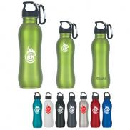 promotional 25 oz. stainless steel grip bottle