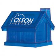 promotional plastic house shape bank