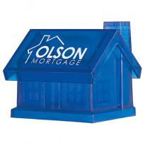 24746 - Plastic House Shape Bank
