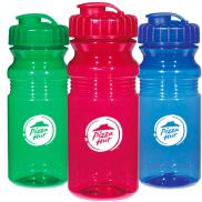 promotional 20 oz. poly-clear fitness bottle