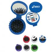 promotional 3-in-1 sewing/brush kit