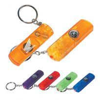 24887 - Whistle, Light & Compass Key Chain