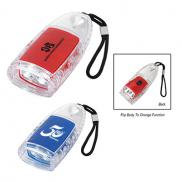 promotional torpedo led lantern flashlight with strap