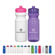 promotional 24 oz. poly-clear™  fitness bottle
