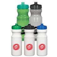promotional poly-clear 24 oz. fitness bottle