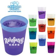 promotional 12 oz. mood stadium cups