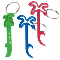 25010 - Palm Tree Bottle Opener Key Ring