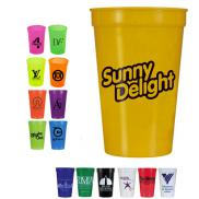 promotional 17 oz. smooth stadium cups