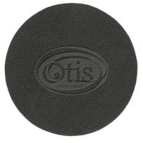 25073 - Bonded Leather Coaster (Debossed)