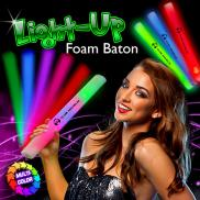 promotional light-up foam baton