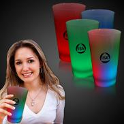 promotional 16 oz. light-up neon cups
