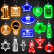 promotional lighted pendant necklace